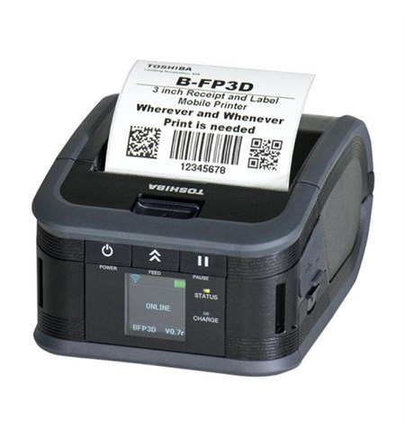 Toshiba TEC B-FP3D Portable Thermal Printer